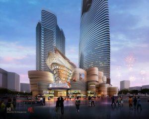 蘭州慶陽路商業綜合體規劃 A Mixed-Use Development in Lanzhou