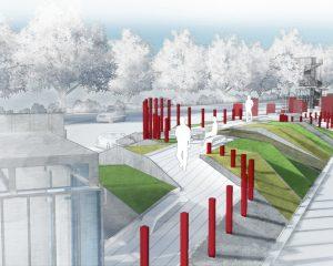 波羅的海之路紀念碑競圖 BALTIC WAY MEMORIAL