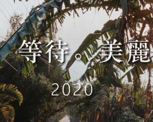2020 緩慢 等待 美麗邊境 桌曆